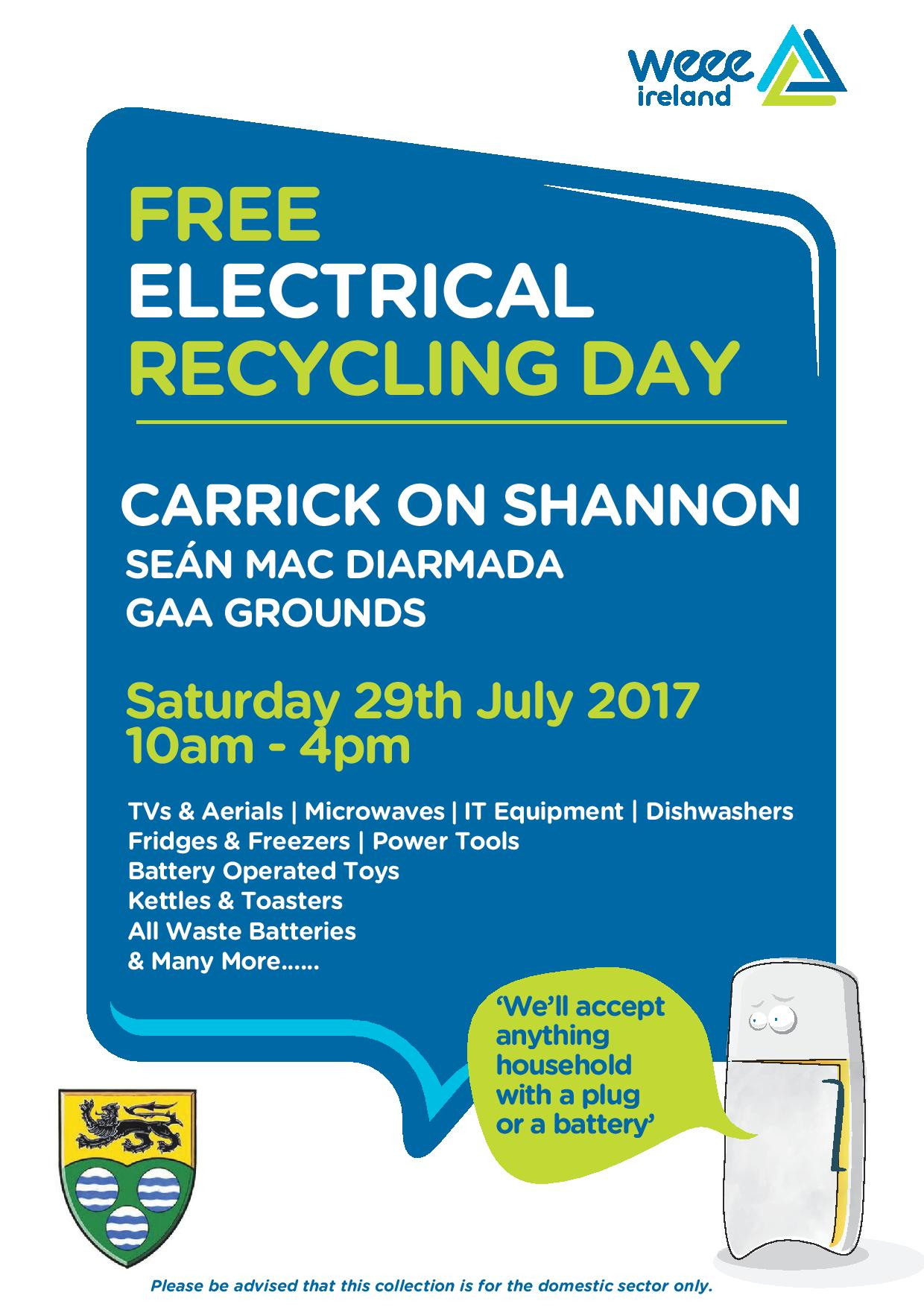 Free Recyling Day Image